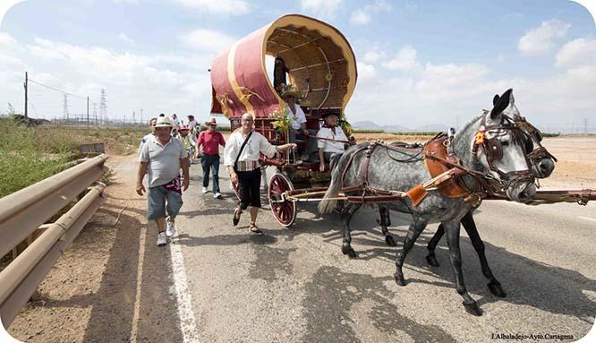Romería y procesión de San Ginés de la Jara